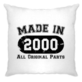 Made in 2000 All Original Parts Cushion Cover [Distressed]