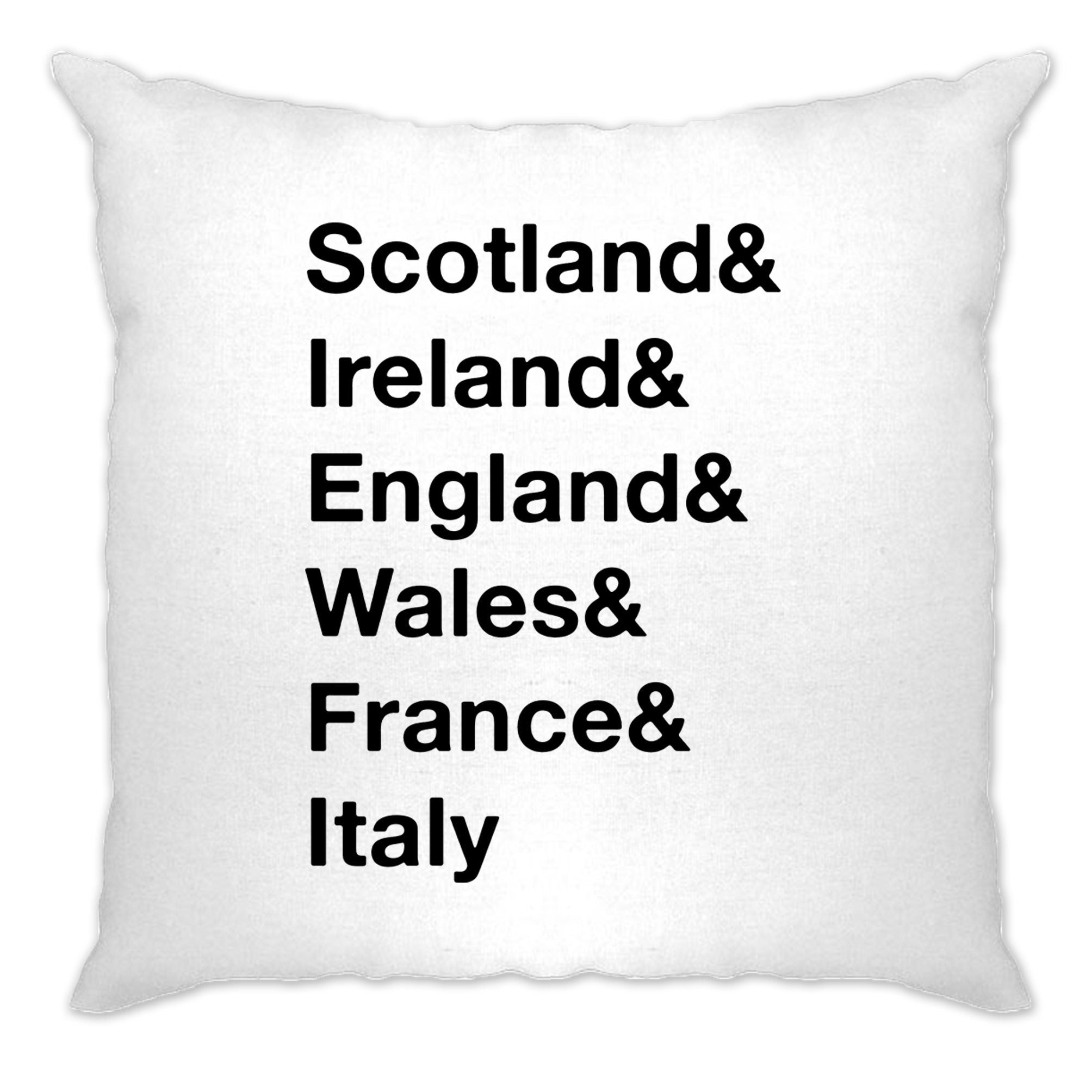 The Six Nations Cushion Cover Scotland, Ireland, England