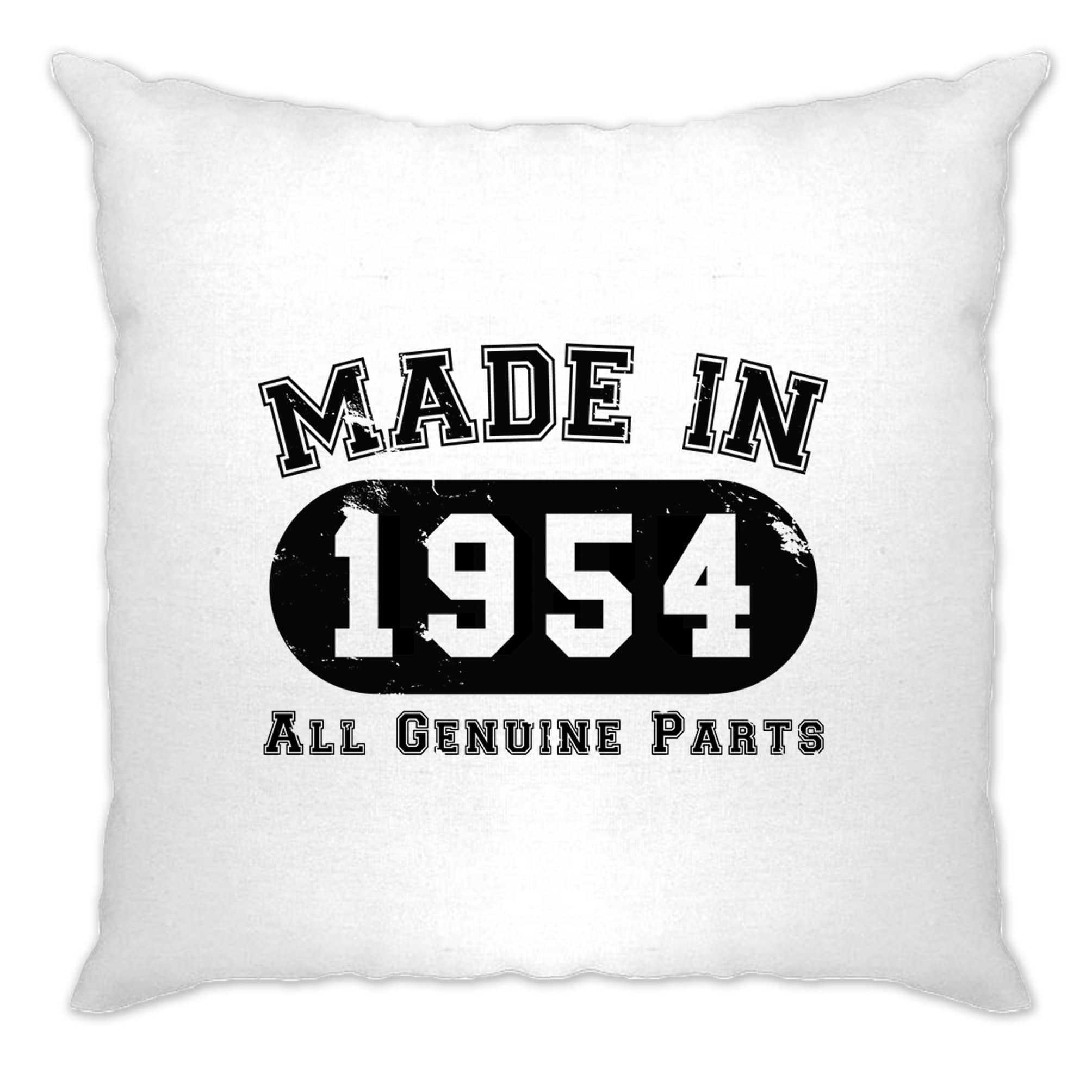 Birthday Cushion Cover Made in 1954 All Genuine Parts