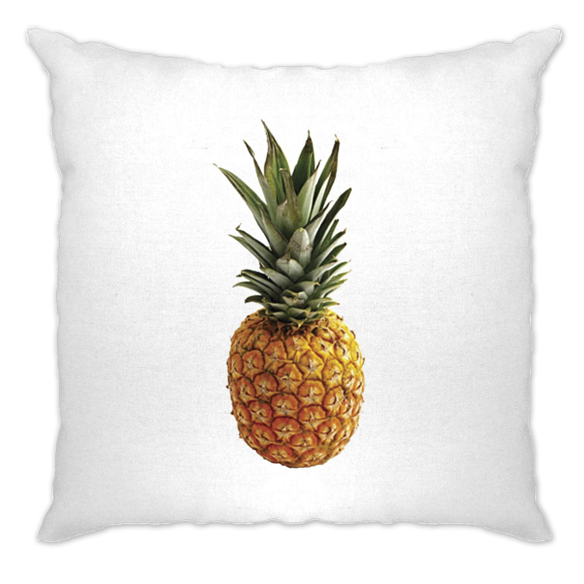 Trendy Summer Cushion Cover Pineapple Fruit Photograph