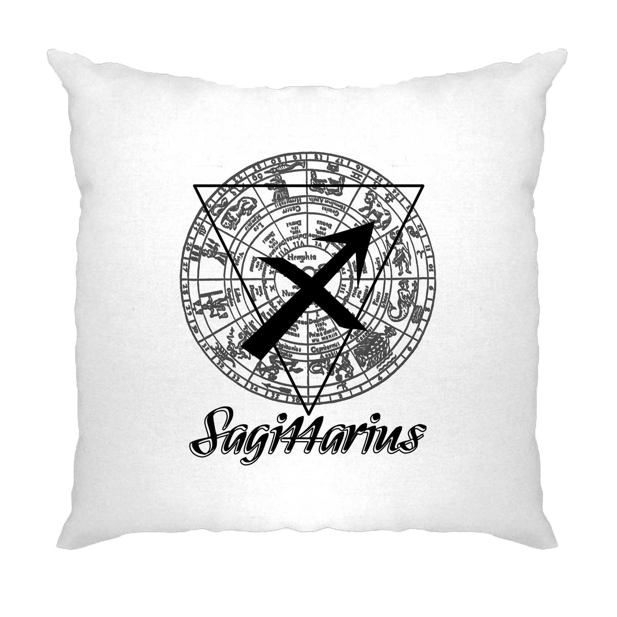 Horoscope Cushion Cover Sagittarius Zodiac Sign Birthday