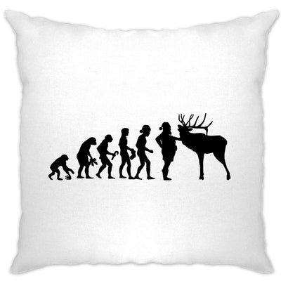 Novelty Christmas Cushion Cover Evolution Of Xmas Holiday