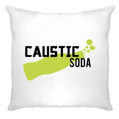 Novelty Gaming Cushion Cover Caustic Soda Drink