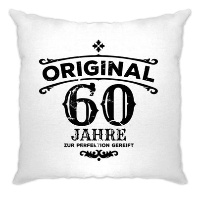 60th Birthday Cushion Cover Original Aged 60 Sixty Years