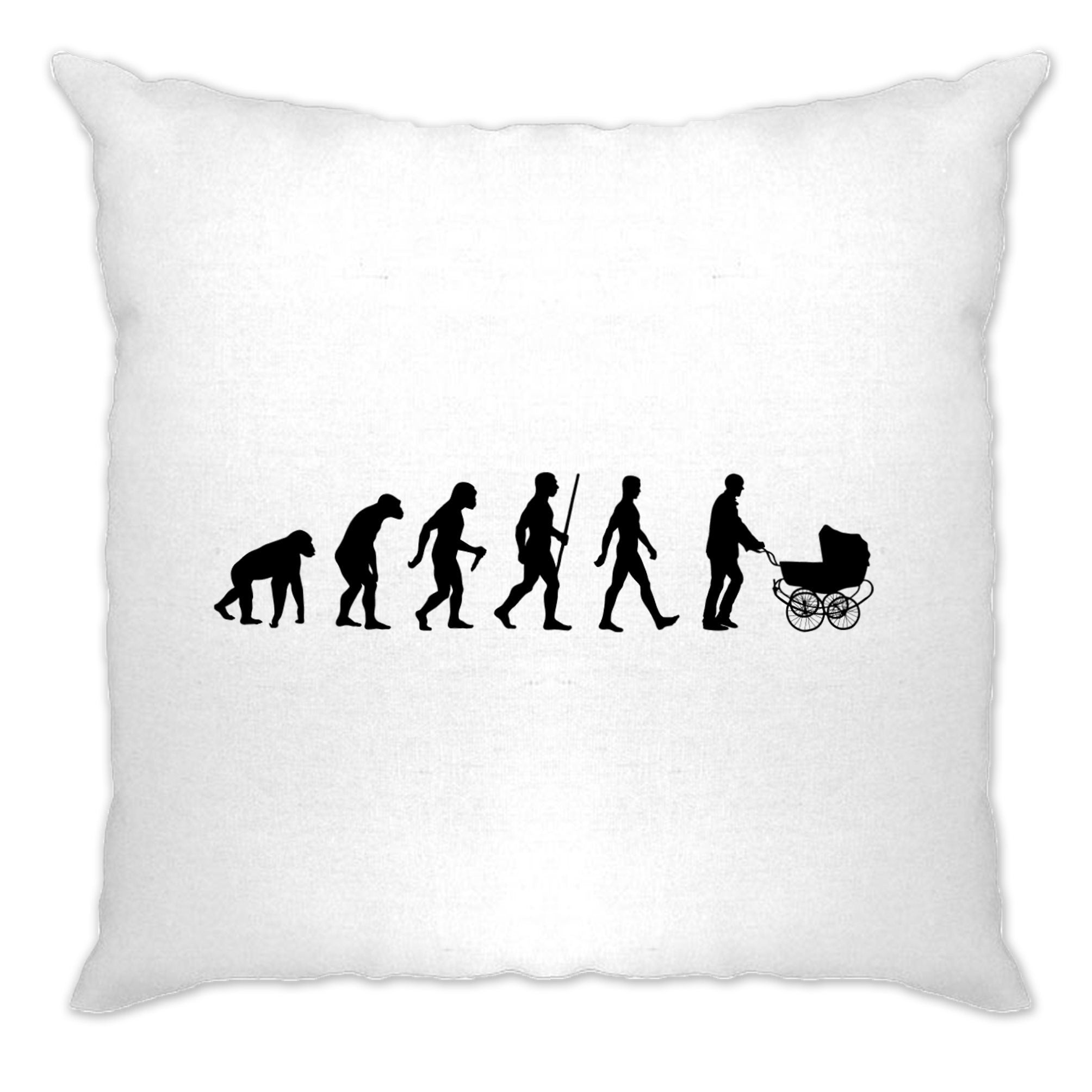 Parenthood Cushion Cover Evolution Of A Family New Born Baby