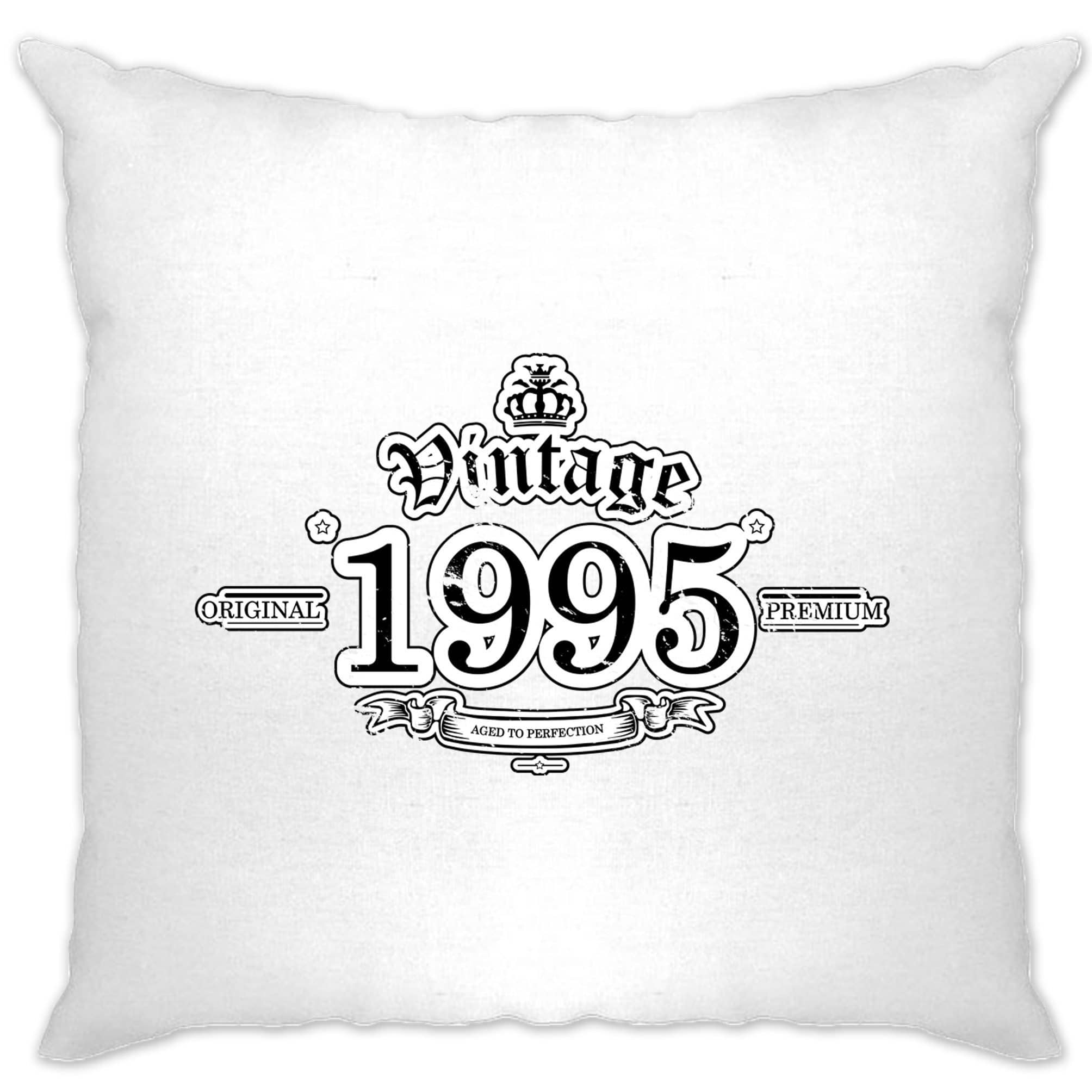 23rd Birthday Cushion Cover Vintage 1995 Aged To Perfection