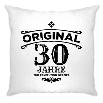 30th Birthday Cushion Cover Original Aged 30 Thirty Years