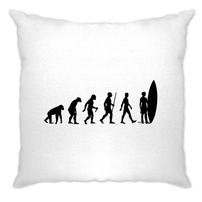 Summer Beach Cushion Cover Evolution Of A Surfer Dude