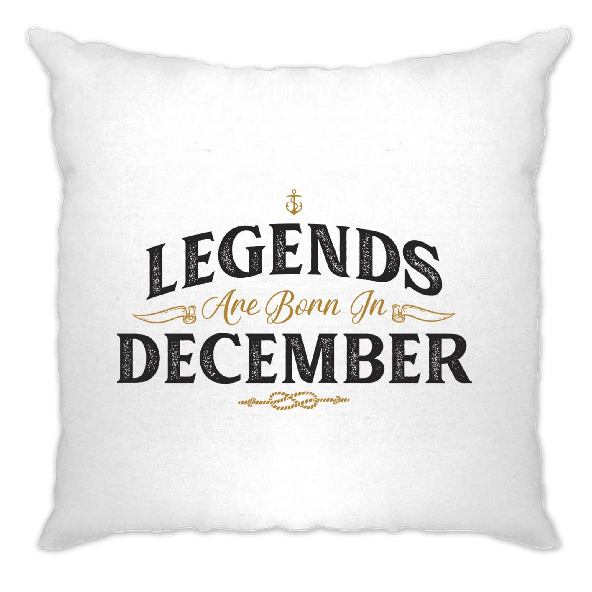 Birthday Cushion Cover Legends Are Born In December