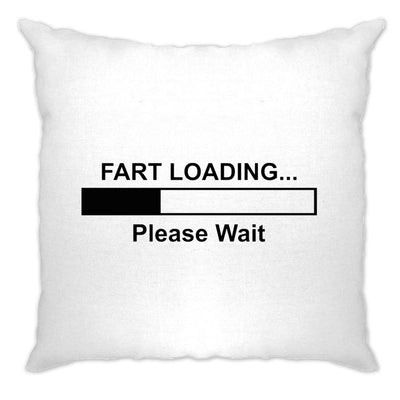 Novelty Cushion Cover Fart Loading Bar Please Wait