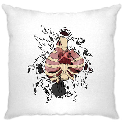 Halloween Cushion Cover Exposed Organs Ripped Open Chest
