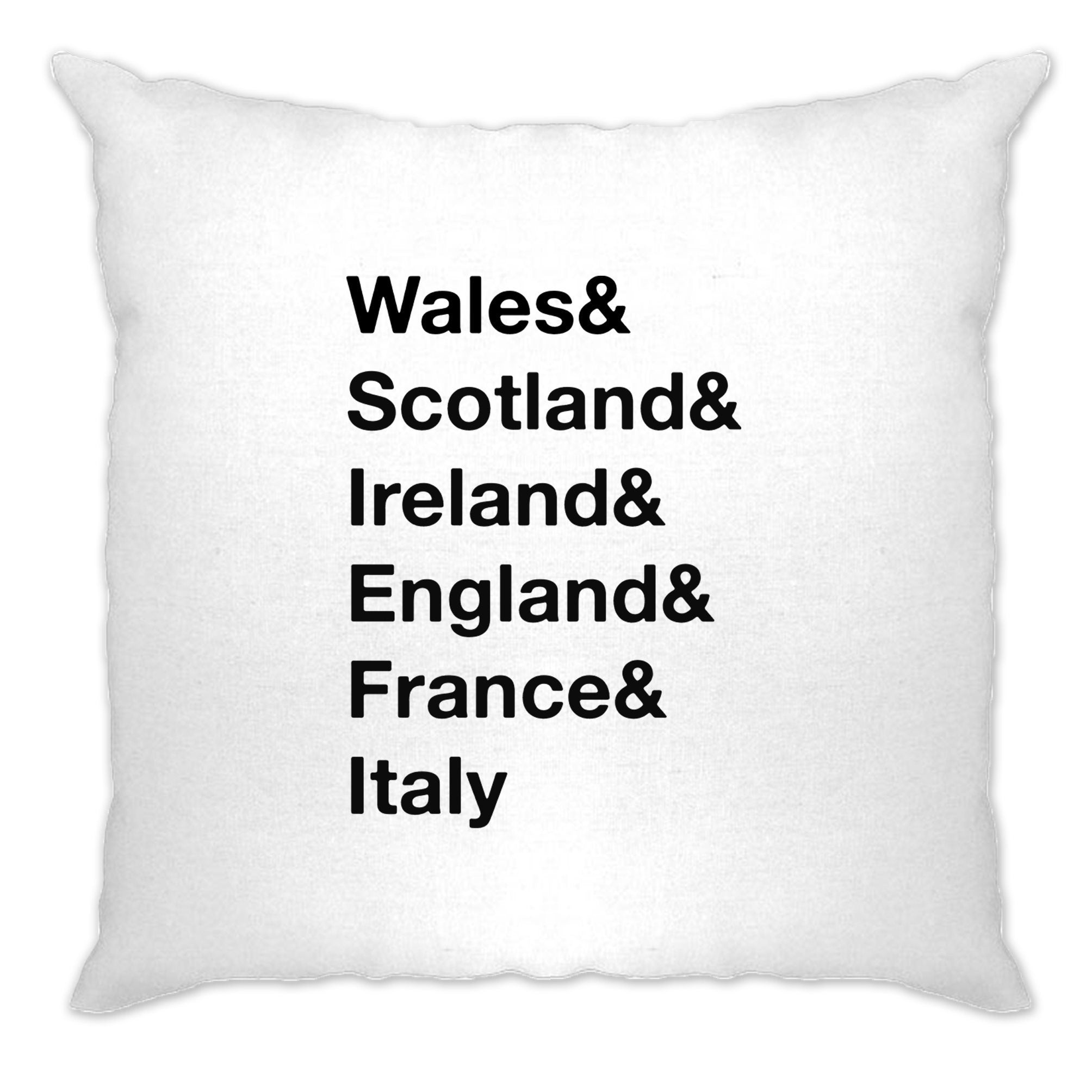 The Six Nations Cushion Cover Wales, Scotland, Ireland