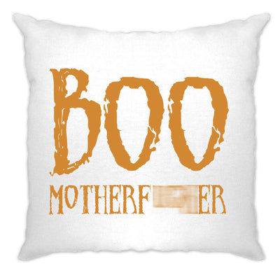 Halloween Novelty Cushion Cover Boo Motherfucker