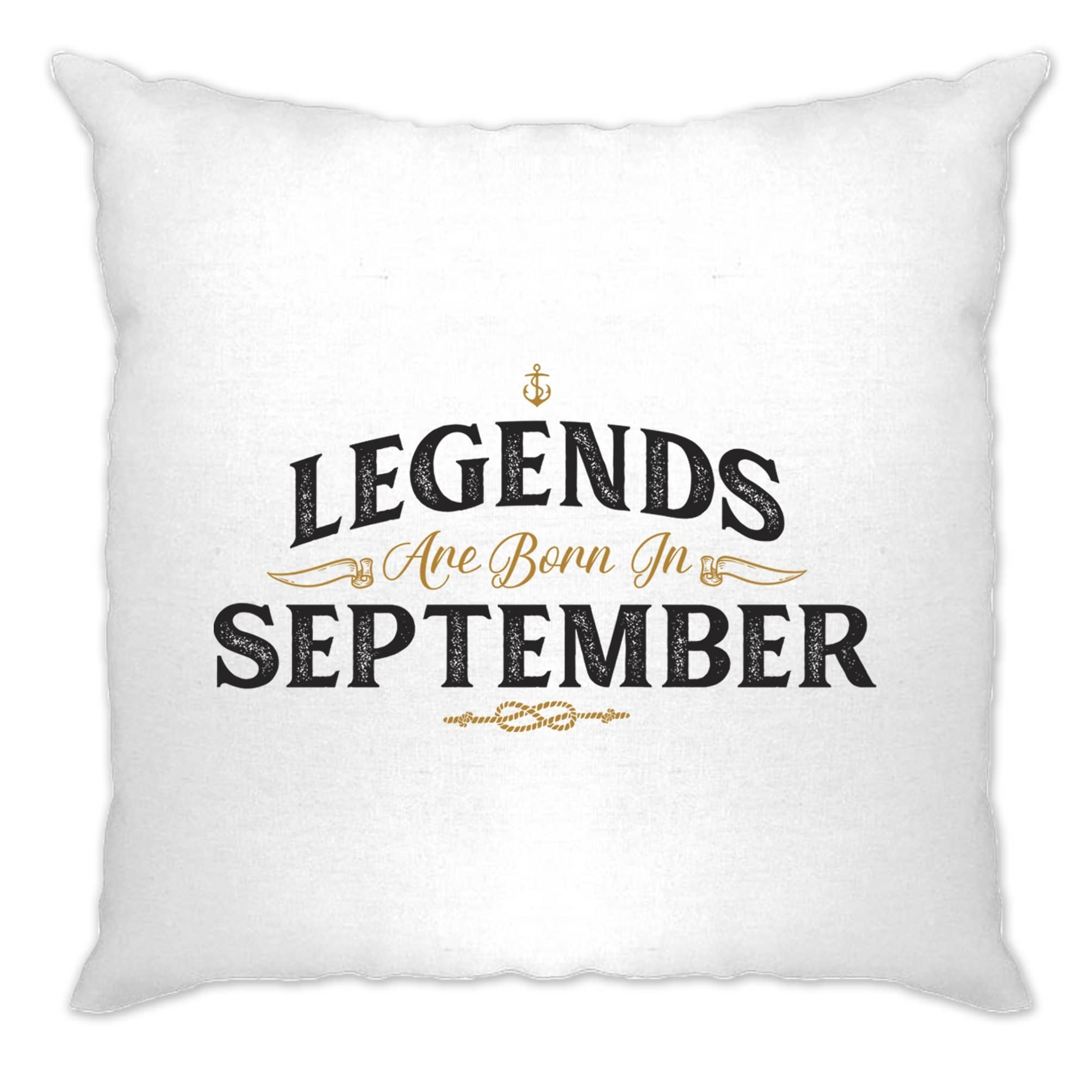 Birthday Cushion Cover Legends Are Born In September