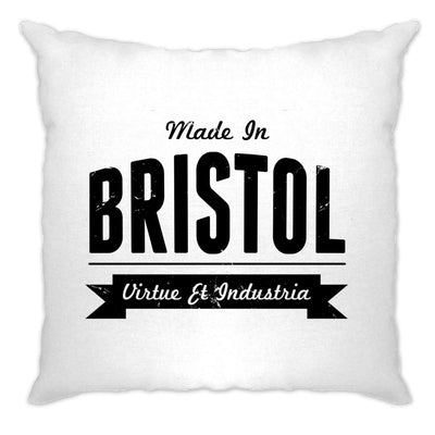Hometown Pride Cushion Cover Made in Bristol Banner