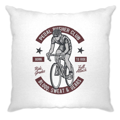 Cycling Cushion Cover Pedal Pushers Cyclist Biker Club