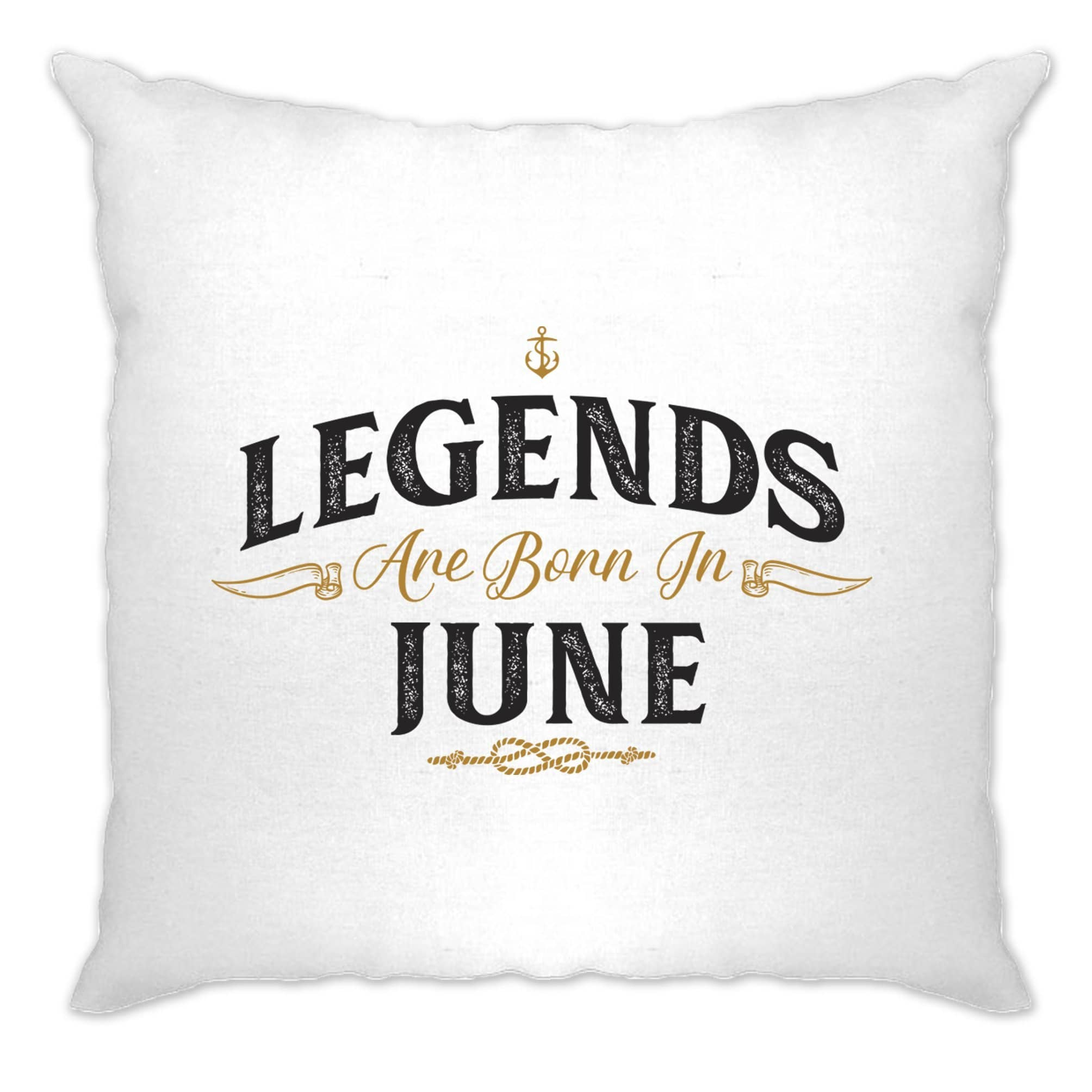 Birthday Cushion Cover Legends Are Born In June