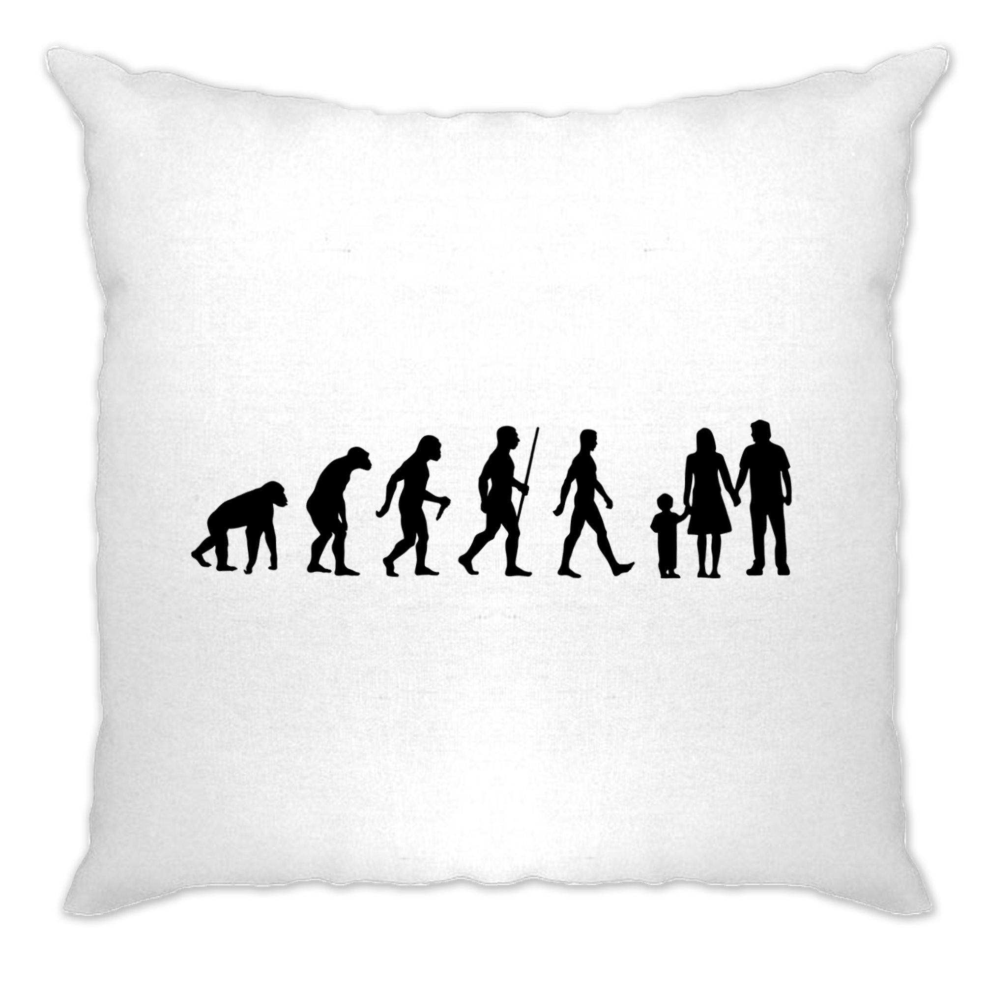 Parenthood Cushion Cover Evolution Of A Family Two Boys