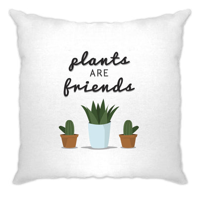 Cute Gardening Cushion Cover Plants Are Friends Cactus
