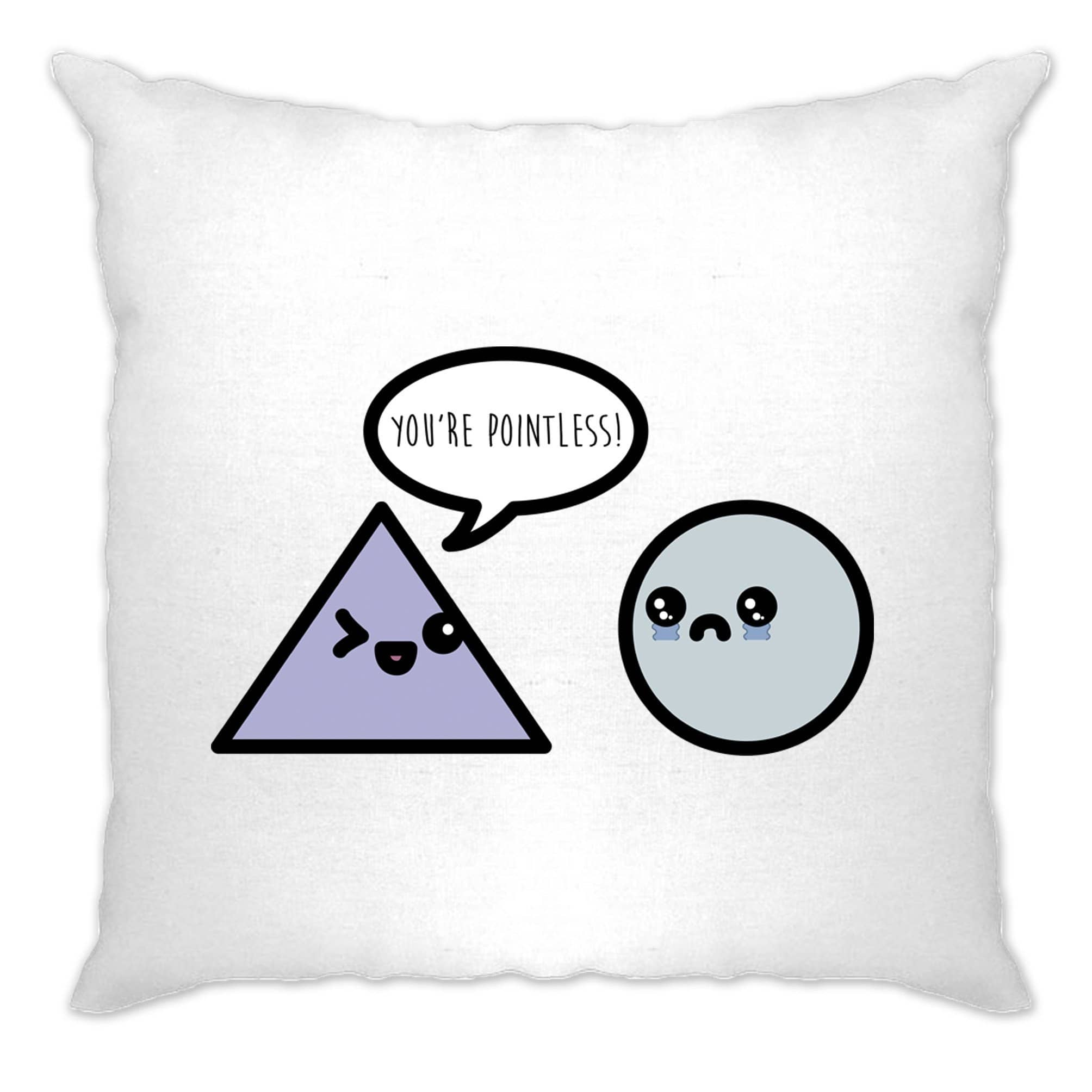 Novelty Math Cushion Cover You're Pointless Joke