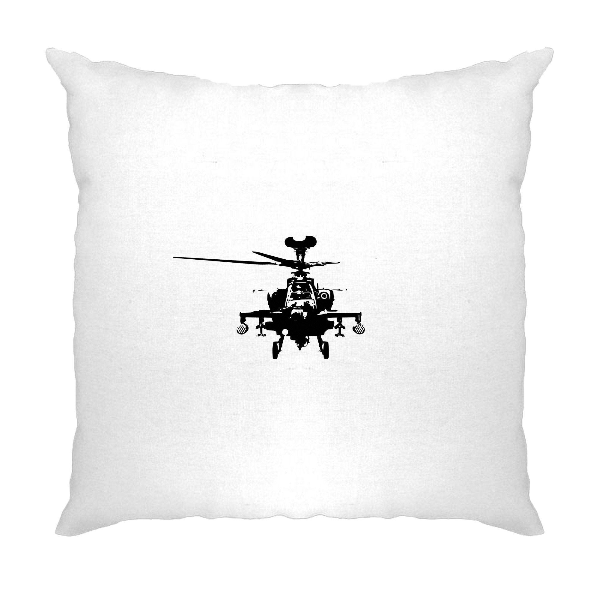 Military Cushion Cover Apache Attack Helicopter AH64