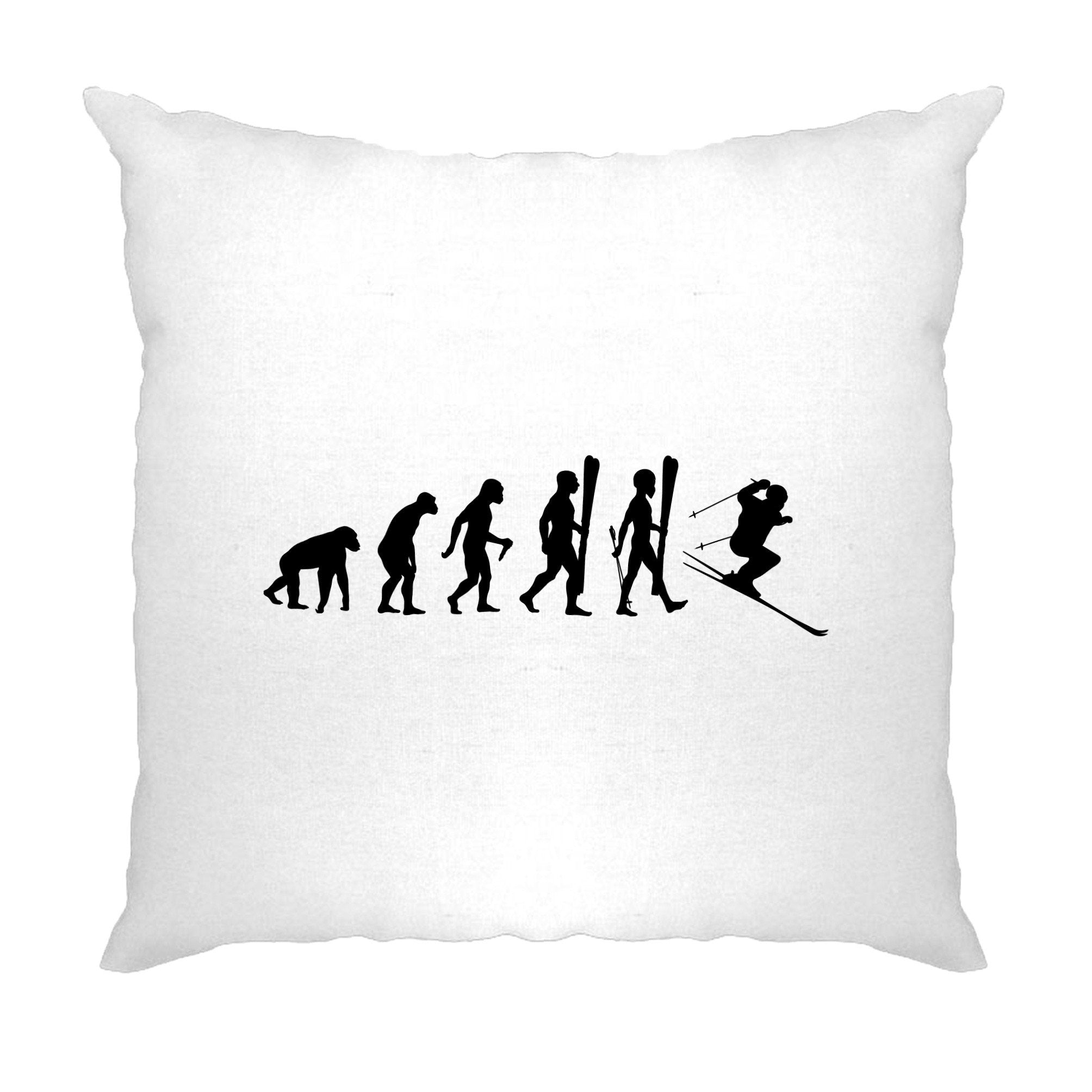 Sports Cushion Cover The Evolution Of A Ski Jumper