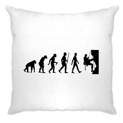 Sports Cushion Cover The Evolution Of Rock Climbing