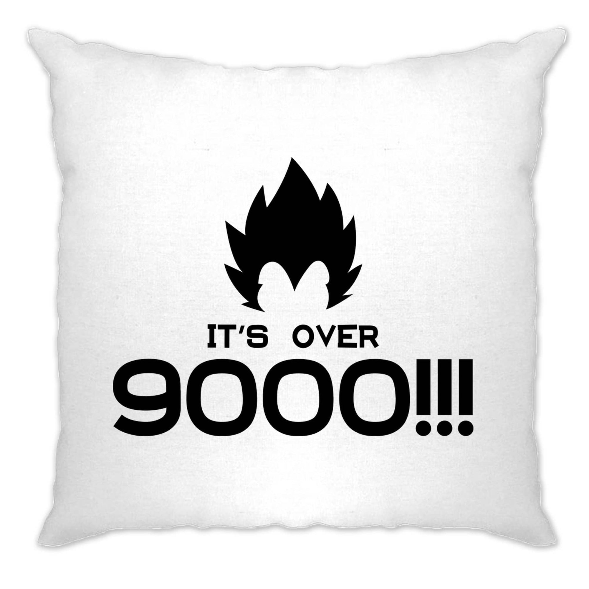 Funny Anime Parody Cushion Cover It's Over 9000!! Slogan