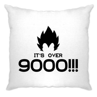 Novelty Anime Parody Cushion Cover It's Over 9000!! Slogan