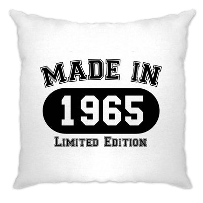 Birthday Cushion Cover Made in 1965 Limited Edition