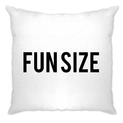 Short Person Cushion Cover Fun Size Novelty Slogan