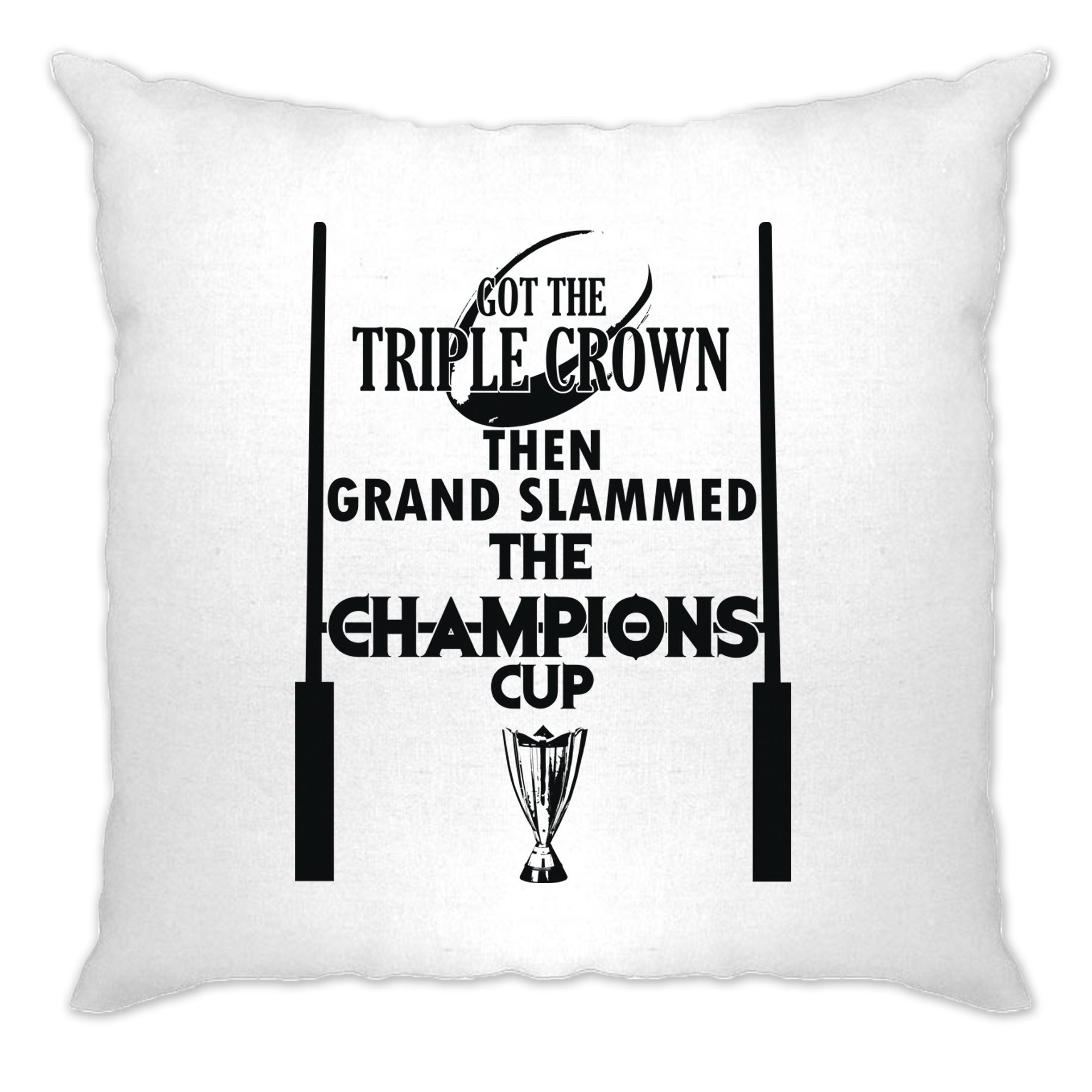 Triple Crown Cushion Cover Then Grand Slammed Champions Cup