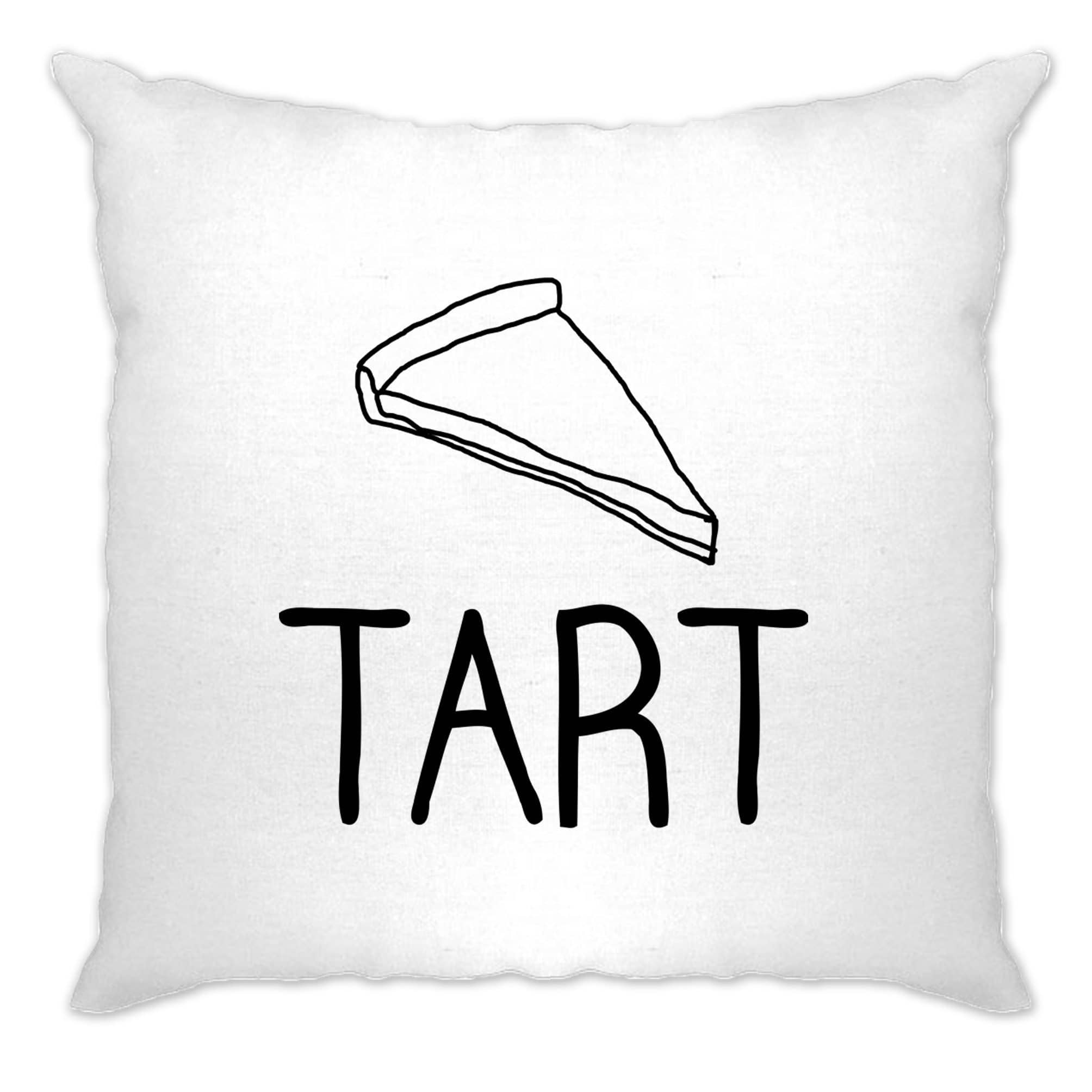 Chef's Cooking Cushion Cover Hand Drawn Tart Logo