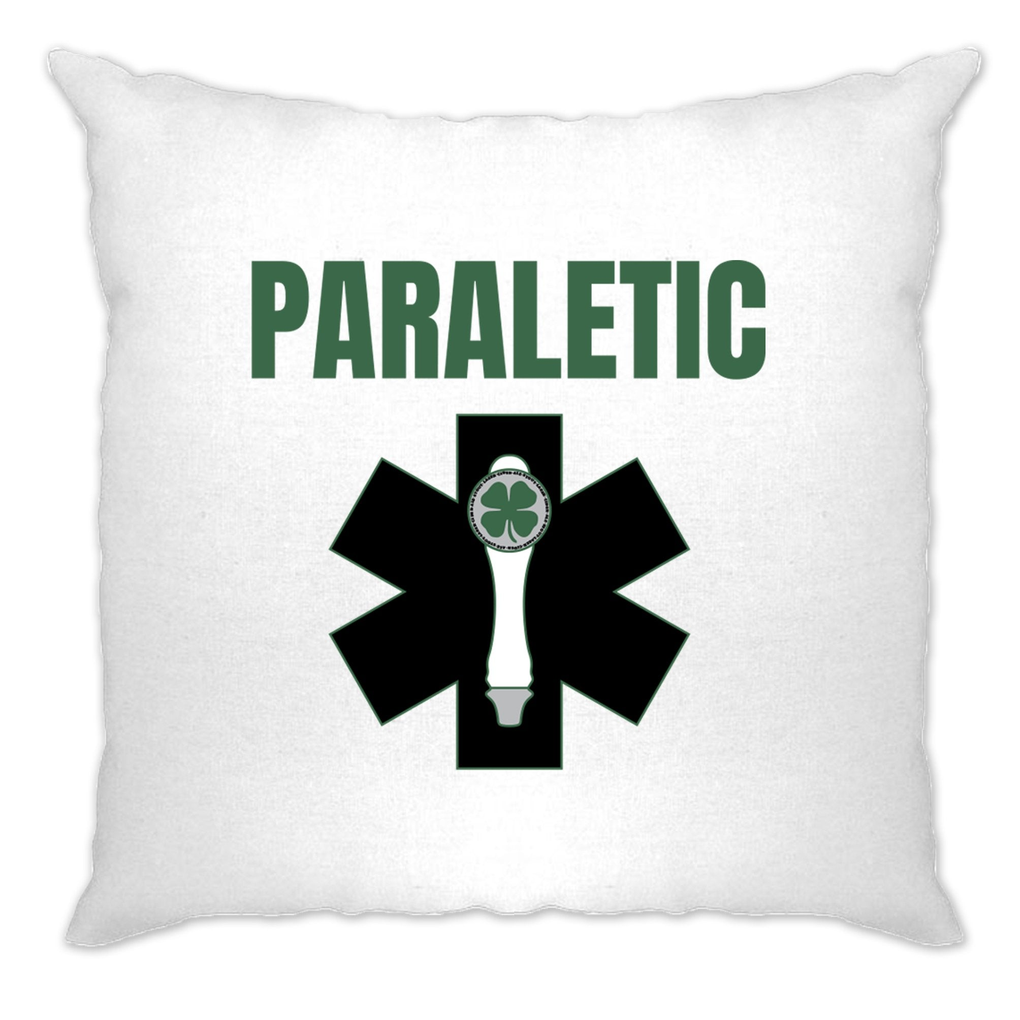 St. Patricks Cushion Cover Paraletic joke Pun