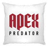 Pro Gaming Cushion Cover Apex Predator Slogan