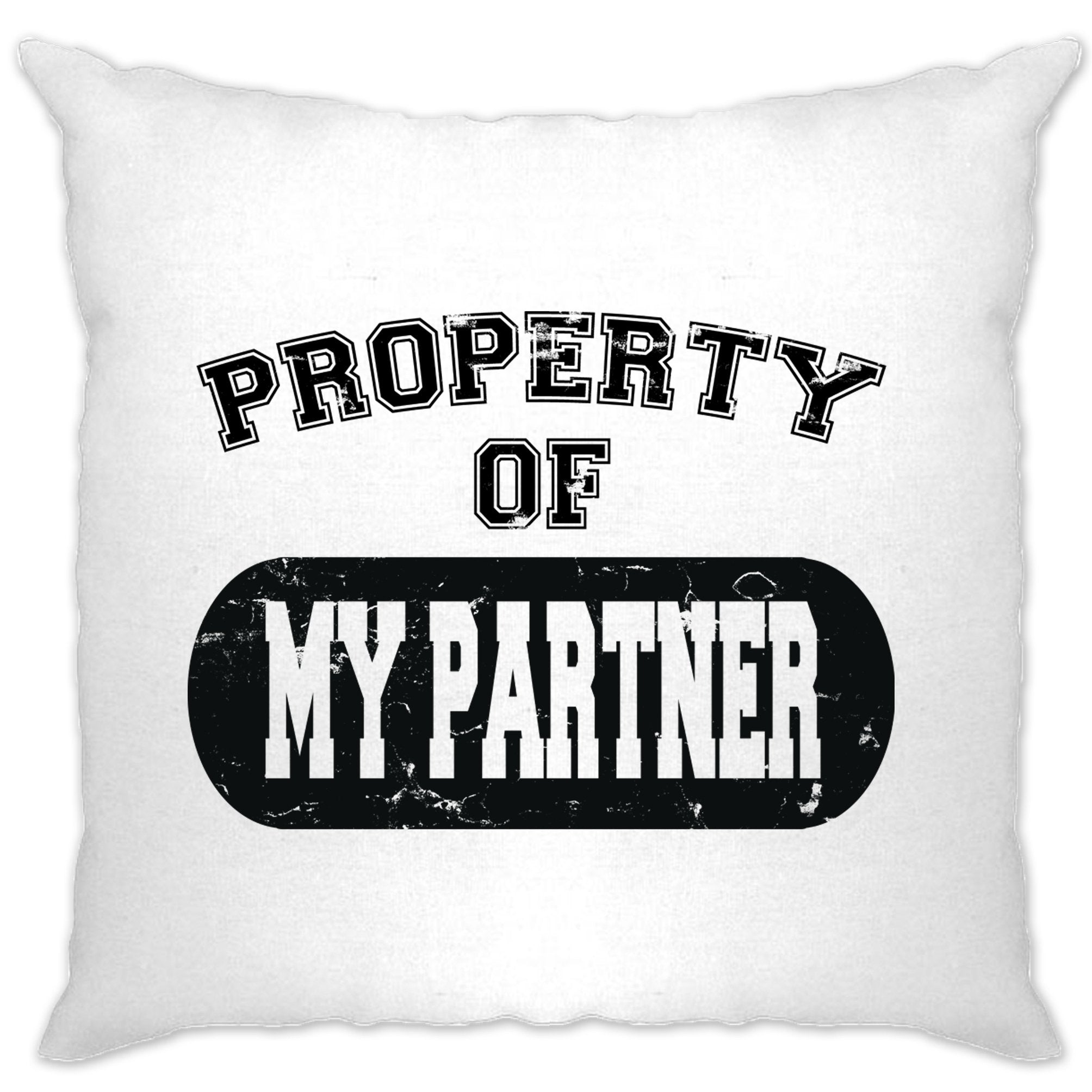 Valentine's Day Cushion Cover Property Of My Partner