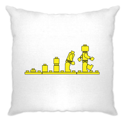 Bricks Evolution Retro Cushion Cover Novelty Toy