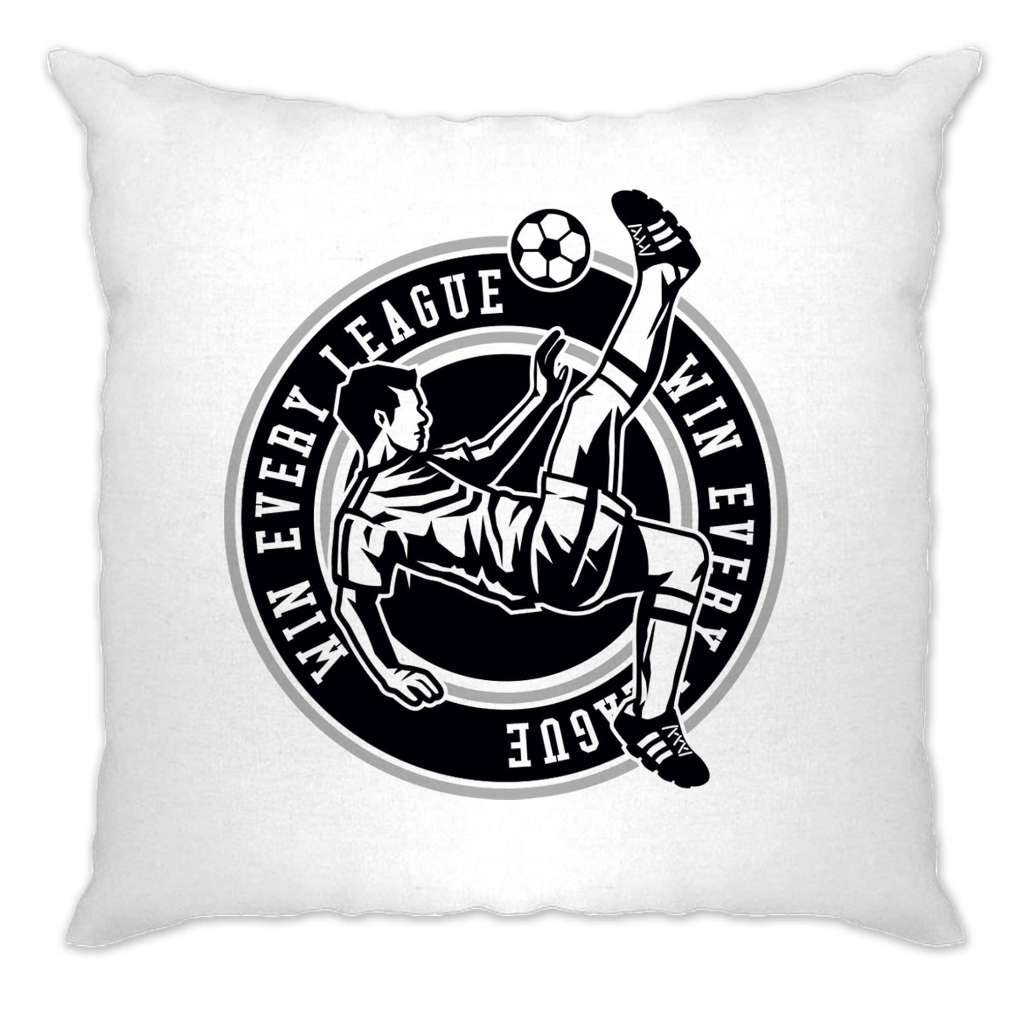 Football Cushion Cover Win The League Motivation