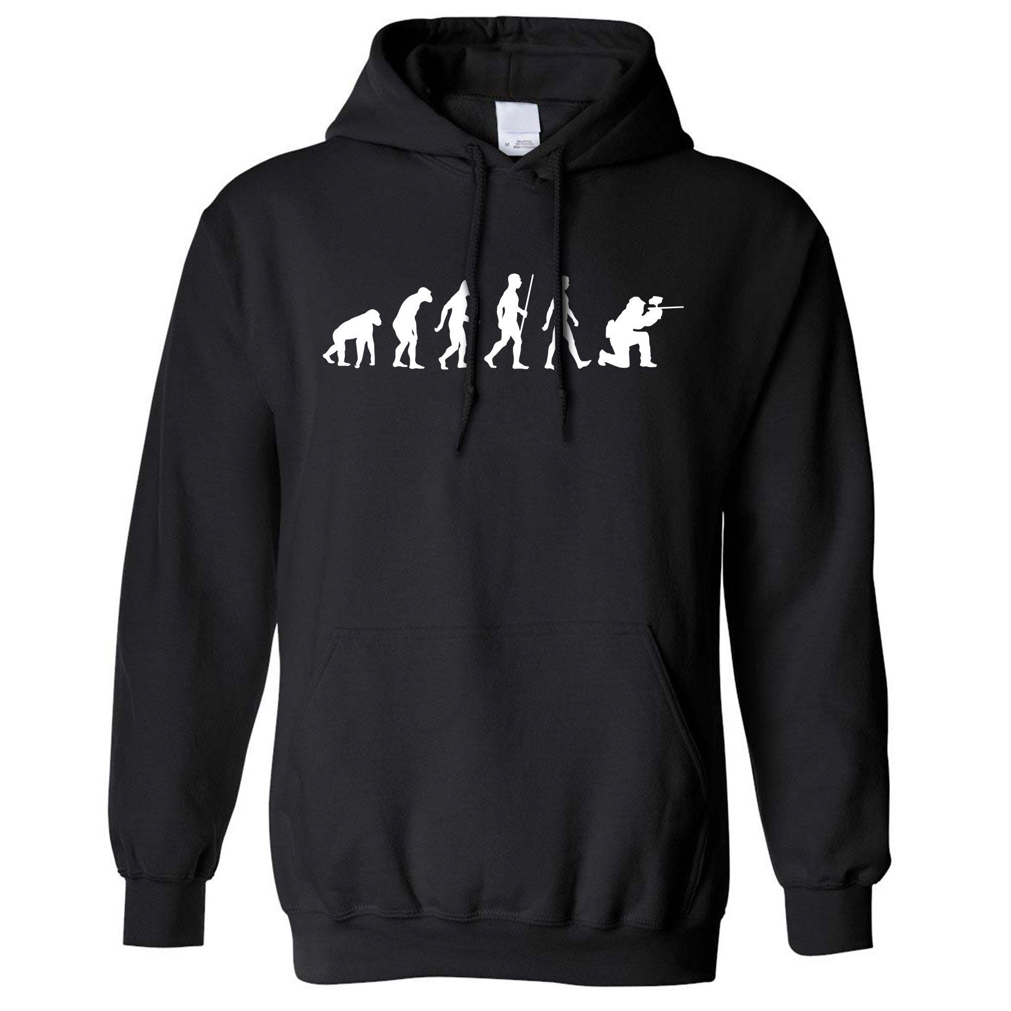 Sports Hoodie The Evolution Of A Paintballer Hooded Jumper