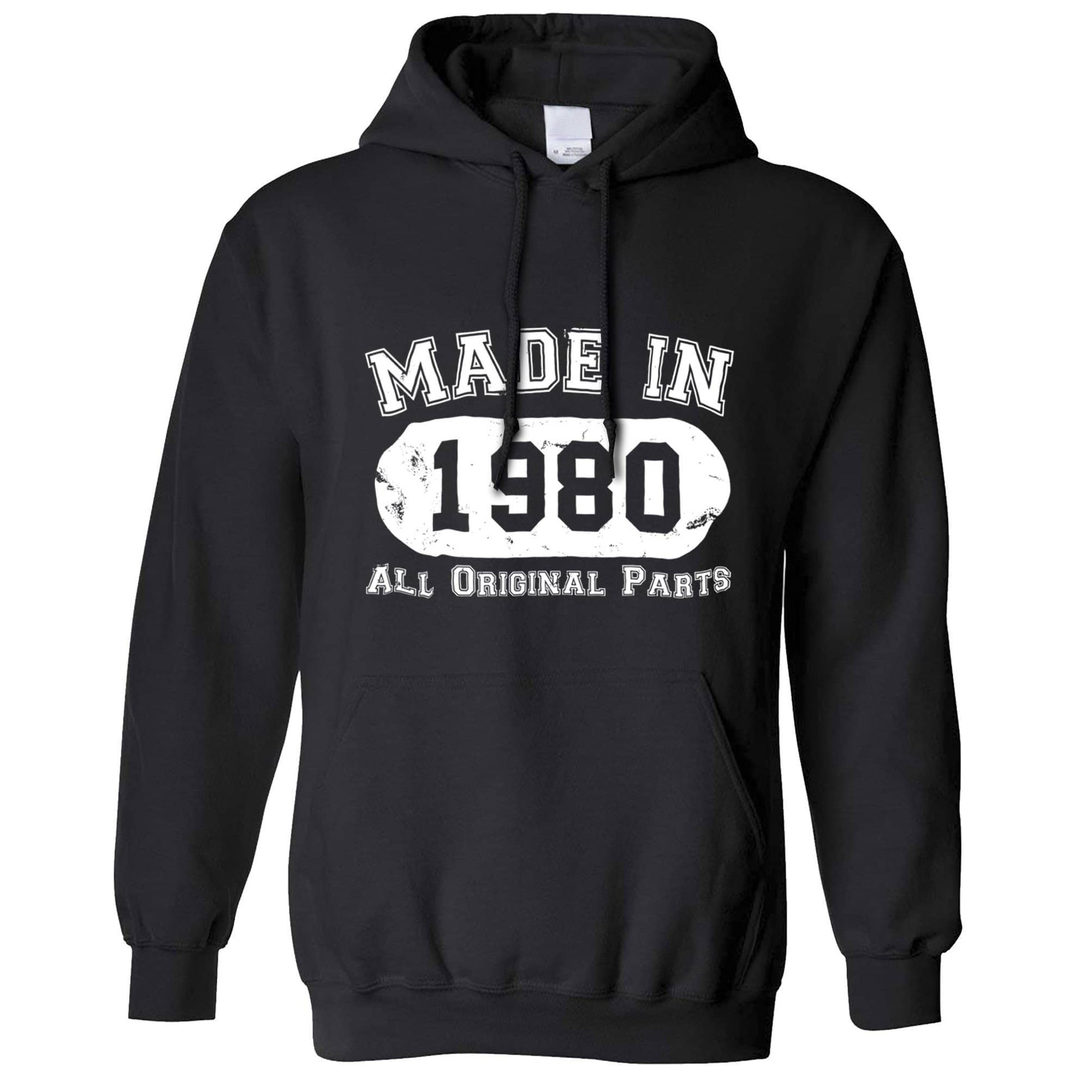 Made in 1980 All Original Parts Hoodie [Distressed]