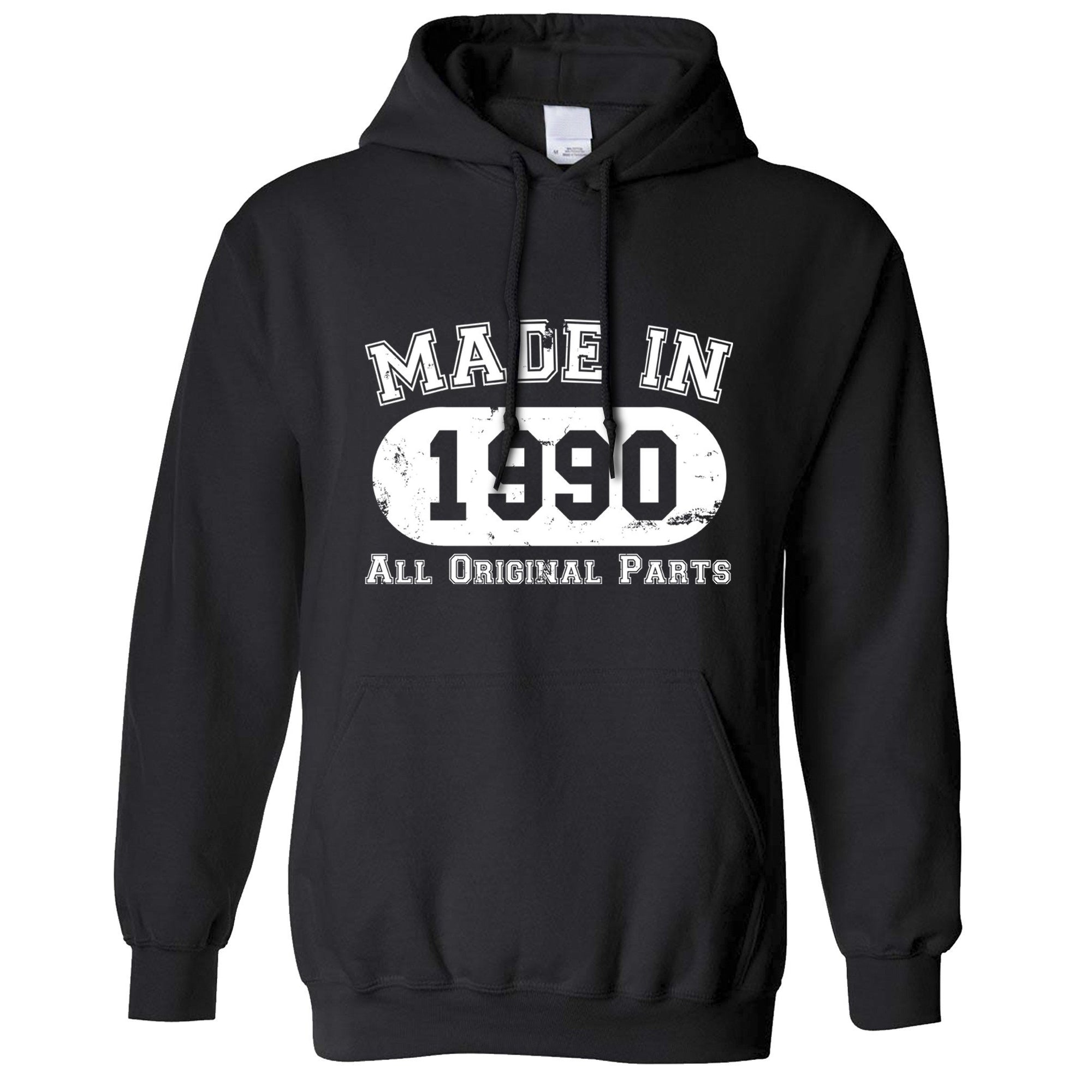 Made in 1990 All Original Parts Hoodie [Distressed]