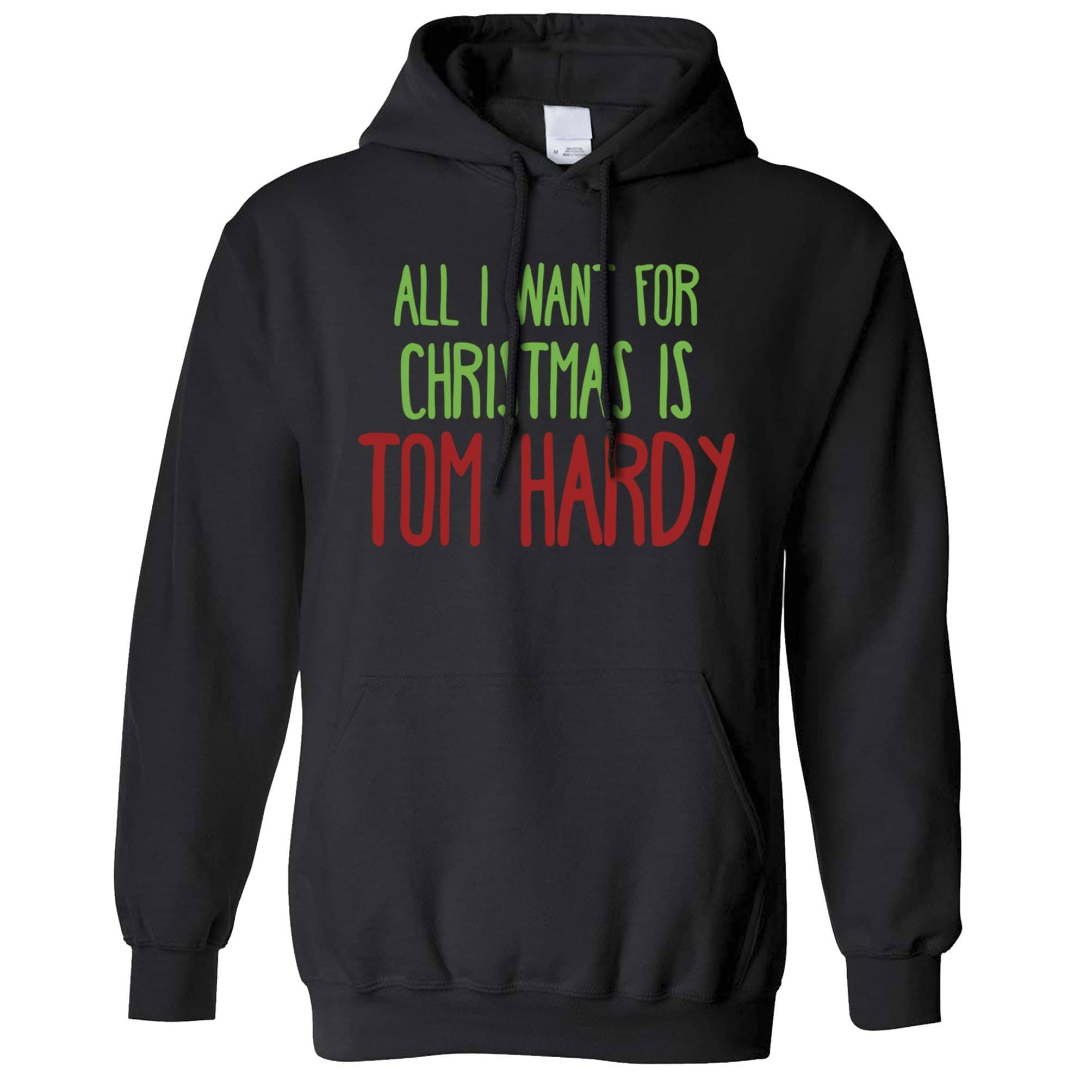 Funny Christmas Hoodie All I Want For Christmas Is Tom Hardy