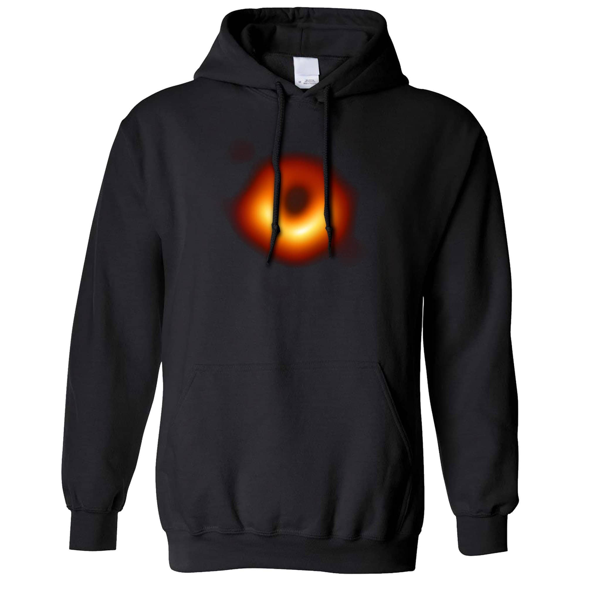 Cool Science Hoodie First Picture of a Black Hole Hooded Jumper
