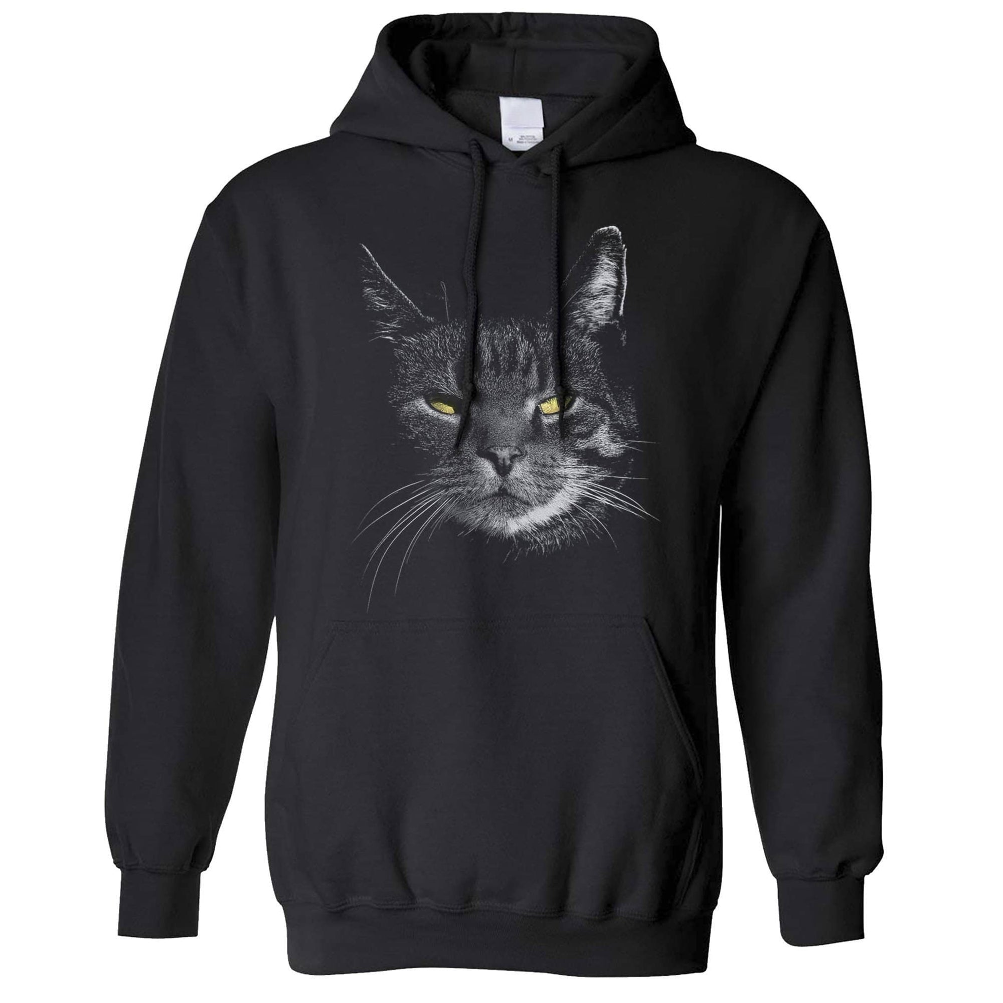 Cat Face Hoodie Hood Cute Feline Head Photo