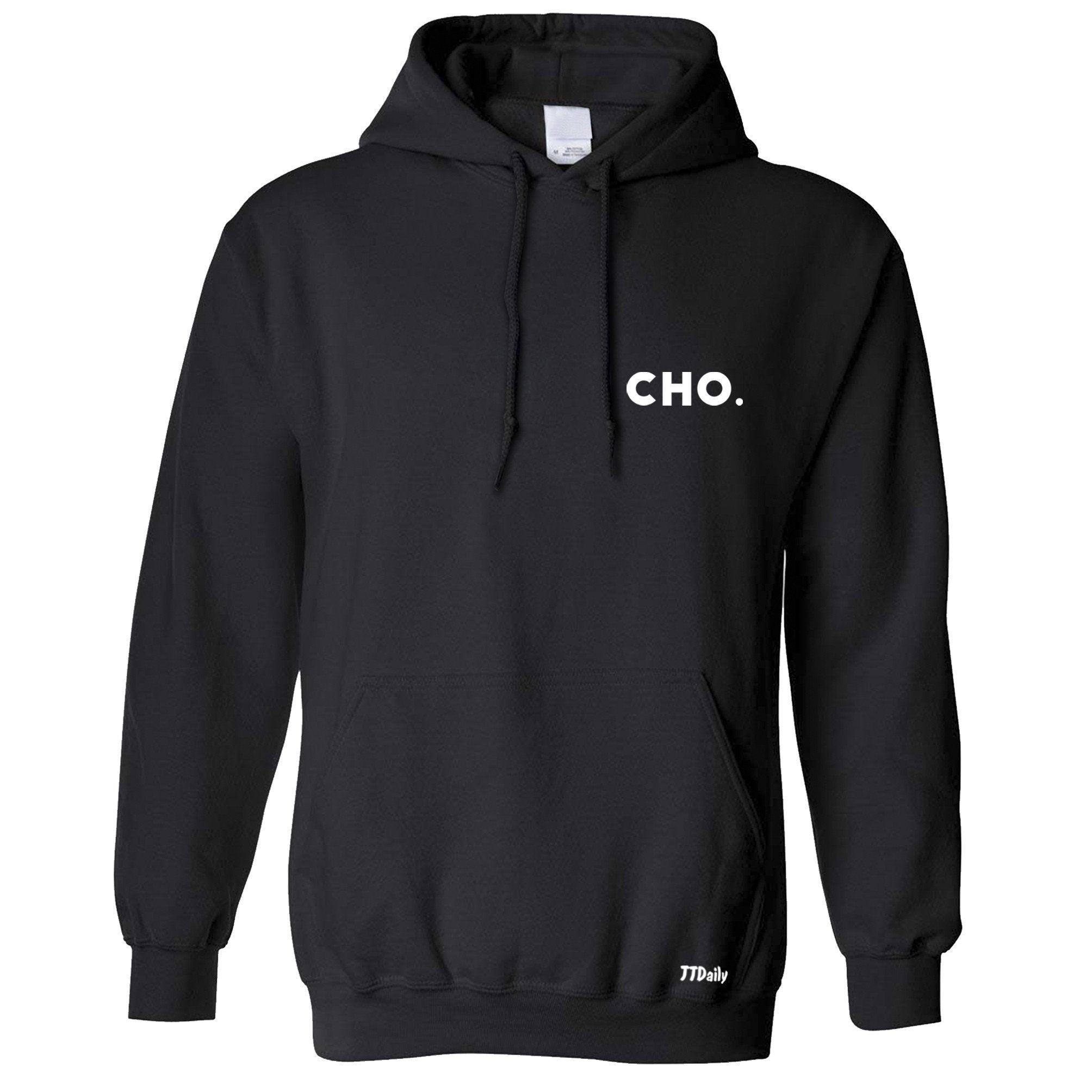 Table Tennis Hoodie Cho Pocket Print Point Win Ping Pong Hooded Jumper