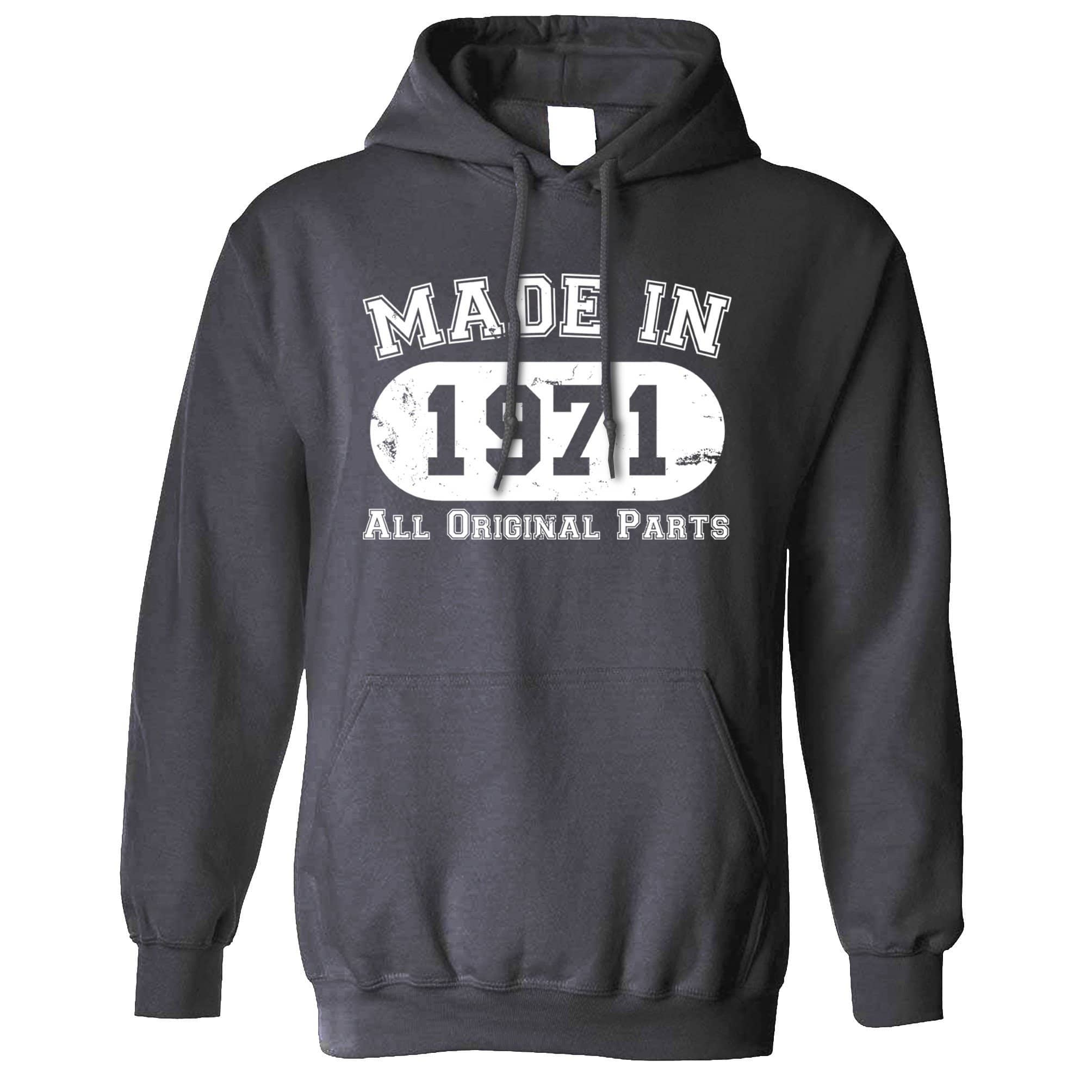 Made in 1971 All Original Parts Hoodie [Distressed]