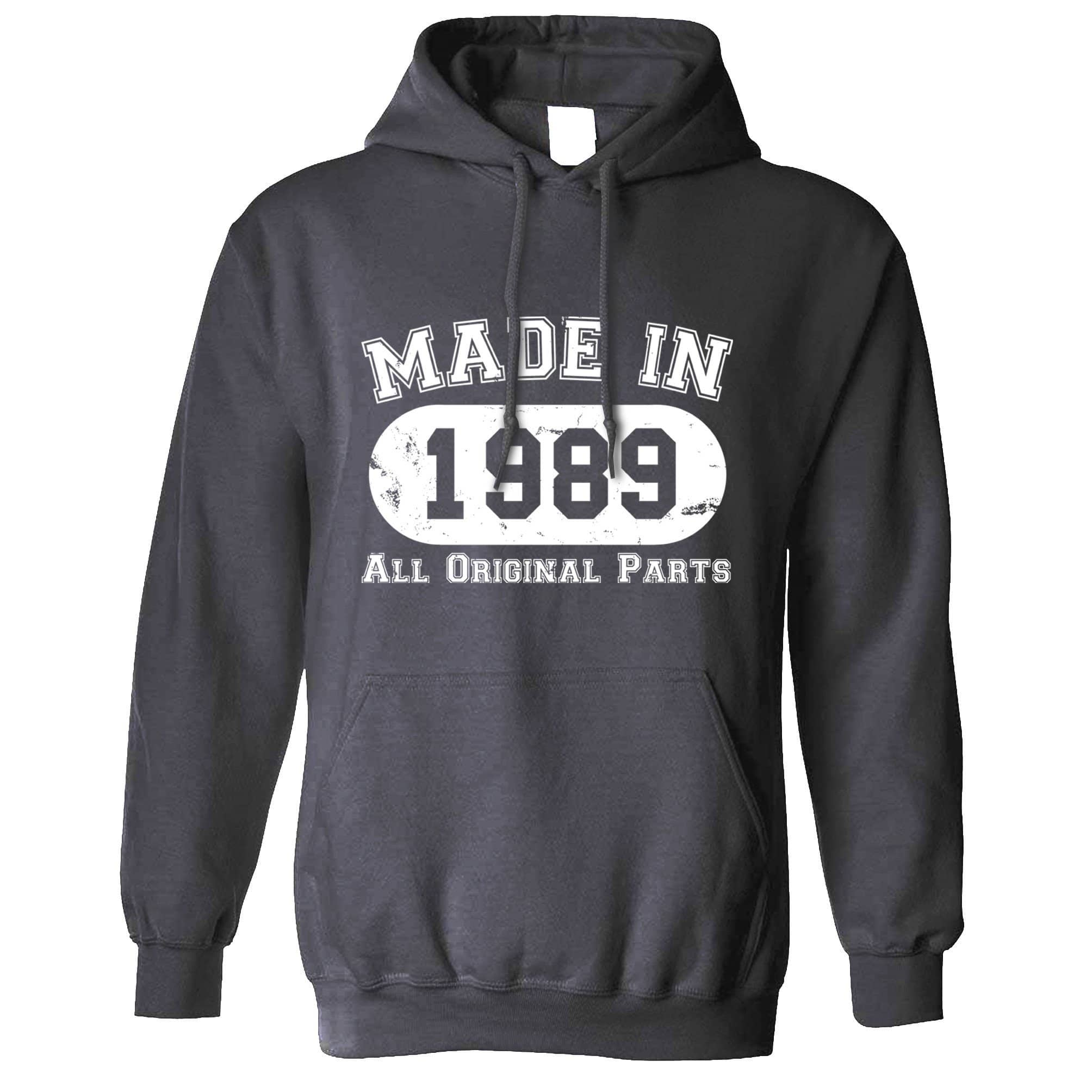 Made in 1989 All Original Parts Hoodie [Distressed]