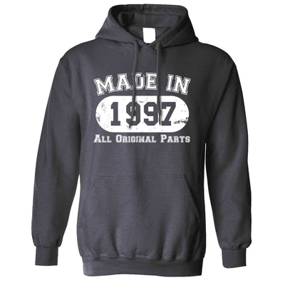 Made in 1997 All Original Parts Hoodie [Distressed]