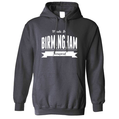 Hometown Pride Hoodie Made in Birmingham Banner Hooded Jumper