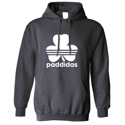 St Patricks Day Hoodie Paddidas Paddy Irish Sport Hooded Jumper